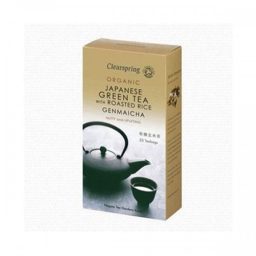 Clearspring - Genmaicha Green Tea With Roasted Rice 40g