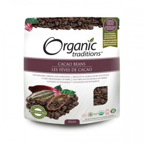 Organic Traditions - Organic Cacao Beans 227g
