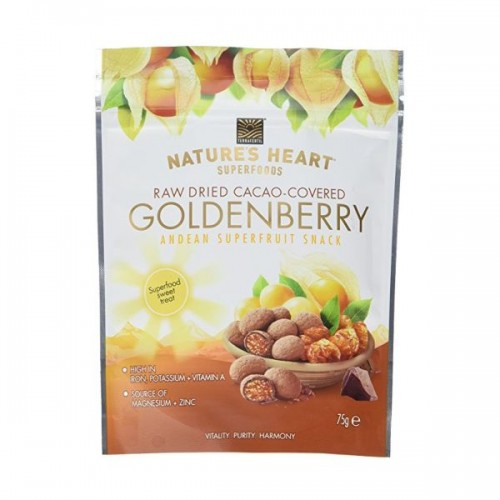 Natures Heart - Cacao Covered Goldenberry 75g