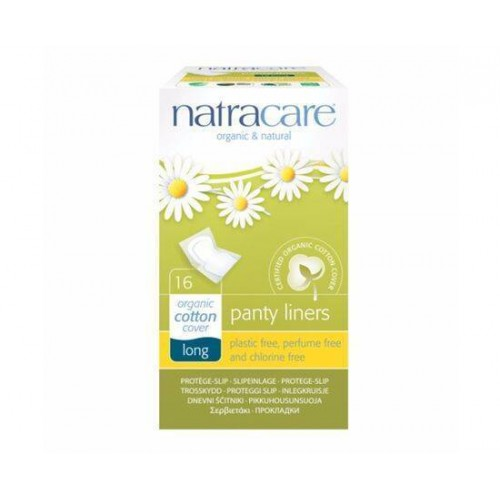 Natracare Panty Liners - Long Wrapped [16s]