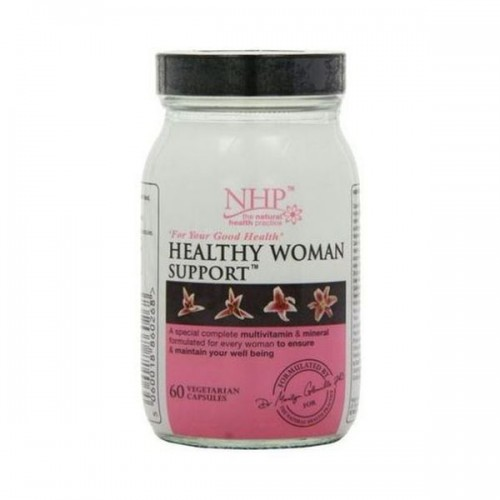 Nhp - Healthy Woman Support Capsules 60s