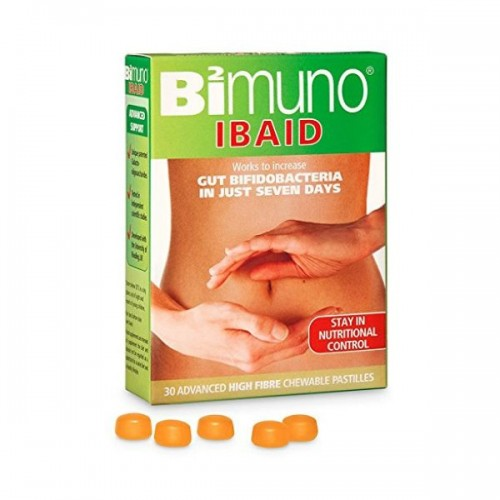 Bimuno Ibaid Food Supplement Chewable Pastilles - Bimuno Ibaid Food Supplement Chewable Pastilles 30s