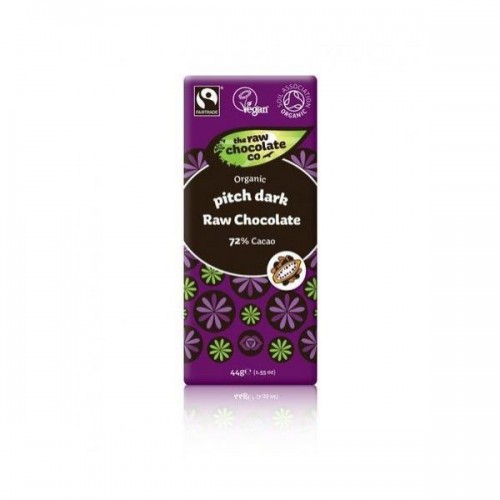 The Raw Chocolate Company - Pitch Dark 69% Cacao 44g