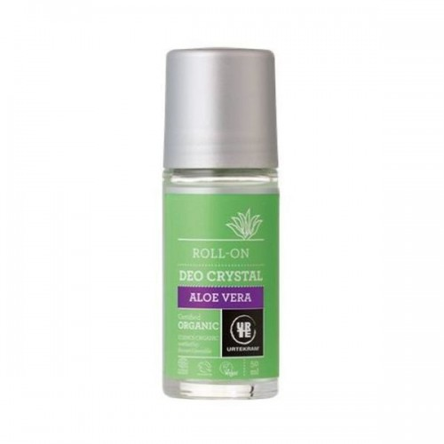 Urtekram - Organic Aloe Vera Crystal Deodorant Roll On 50ml